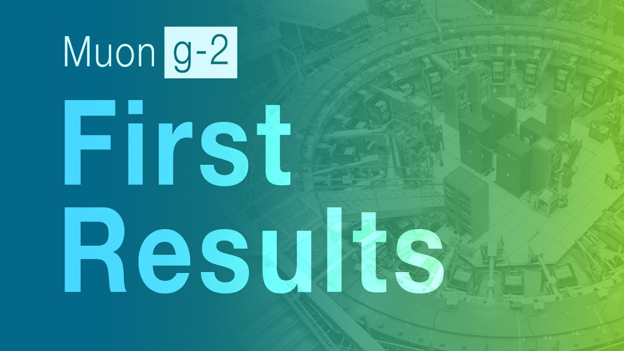 Muon g-2 first results