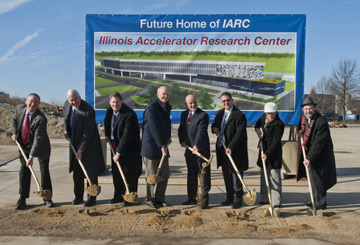 IARC Groundbreaking ceremony