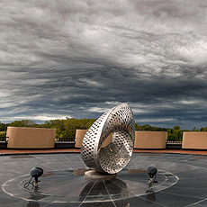 nature, sky, cloud, weather, Mobius Strip, sculpture