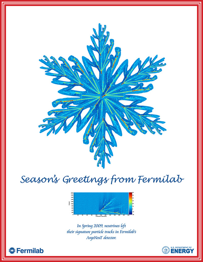 Fermilab Holiday Card 2009