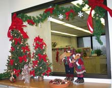Accounting Department decorations