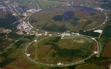 Aerial view of Fermilab