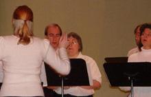 Fermi singers in concert