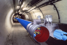 CERN�s future LHC collider. (Copyright CERN)