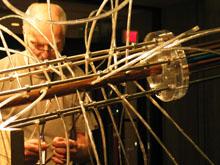 John Urish setting up Collision Event