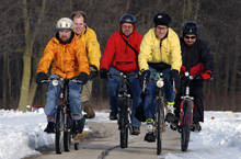 Fermilab bike commuters