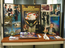 Counterintelligence display