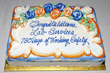 Lab Services Safety Celebration