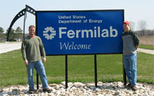 New Fermilab Welcome Sign