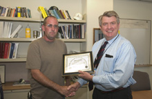 Whitaker Excavating Safety Award