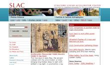 SLAC Web Site
