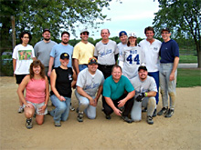 Final Force 2005 Coed Softball League Champions