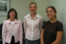 Anna Zuccarini, Dorothy Wyrzykowski, Kristen Maier