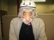 Einstein Scarecrow