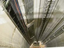 NuMI target hall shaft