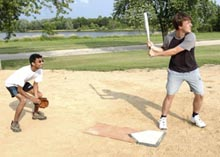 Fermilab's softball league