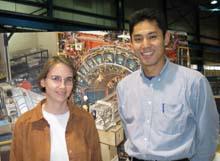 Mary Convery and Kenichi Hatakeyama