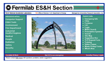ESH webpage