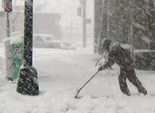 Winter Shoveling